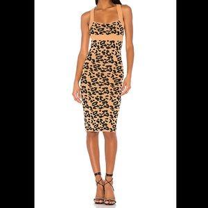 Revolve Knit Leopard Dress